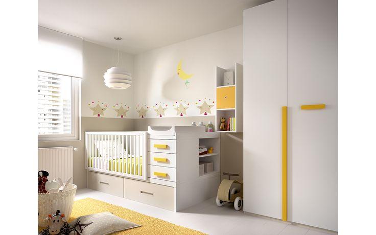 H603 Cuna convertible, una gran solución para que los muebles que adquieres en esta etapa de la vida tengan una durabilidad mayor con lo que todo ello supone. 2m x 1m para empezar a vivir que podrás convertir de una forma fácil y sencilla en toda una habitación juvenil.  http://rimobel.es/index.php/es/rimobel/mundo-joven/infantil