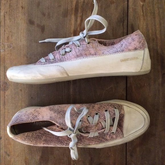 Candice Cooper sneakers Pink Python sneakers. Size 39. Only worn a few times!!! Shoes Sneakers