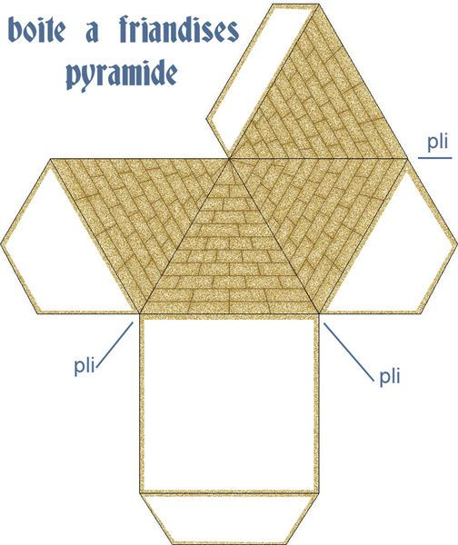 ACTIVITE - Boîte pyramide