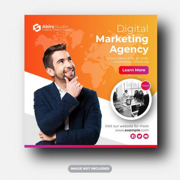 Digital Marketing Agency Social Media Post Banner Ads in ...