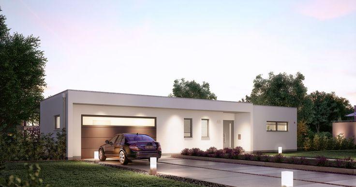 h user haus bungalow kern haus und massivhaus. Black Bedroom Furniture Sets. Home Design Ideas