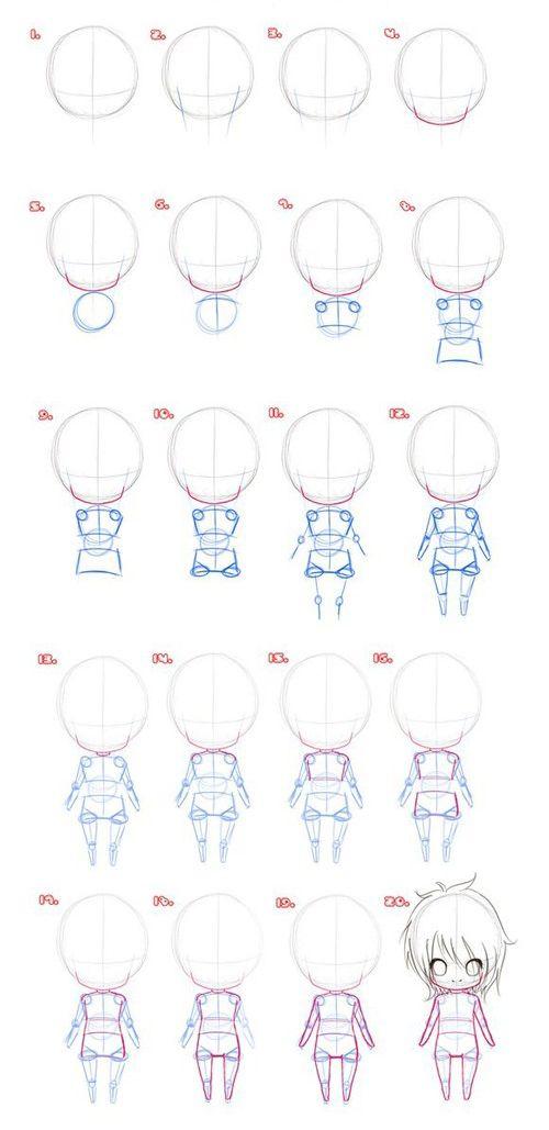 Dicas   Personagem gordinho - Ilustrando Ideias