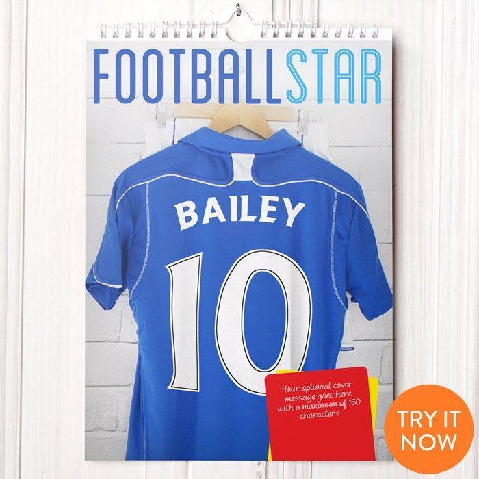 Personalised Football Calendar - 3rd Edition | GettingPersonal.co.uk