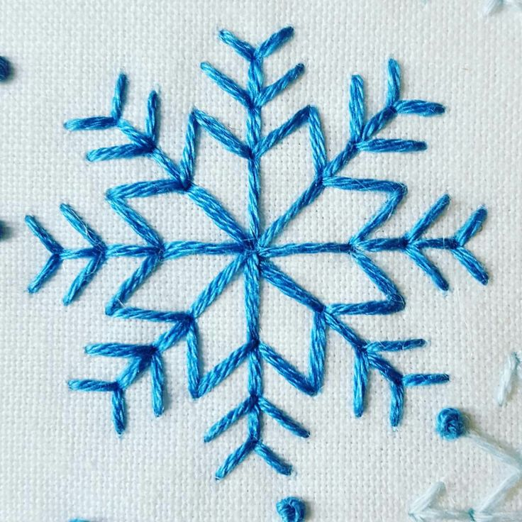 ❄ Simple but effective stitches ❄