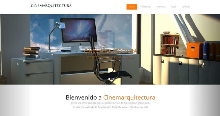 Nuestro nuevo sitio web www.cinemarquitectura.cl