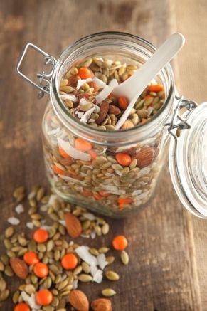 Pumpkin Seed Snack Mix #pauladeen