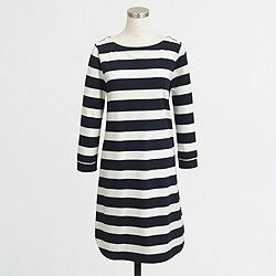 Factory nautical knit dress