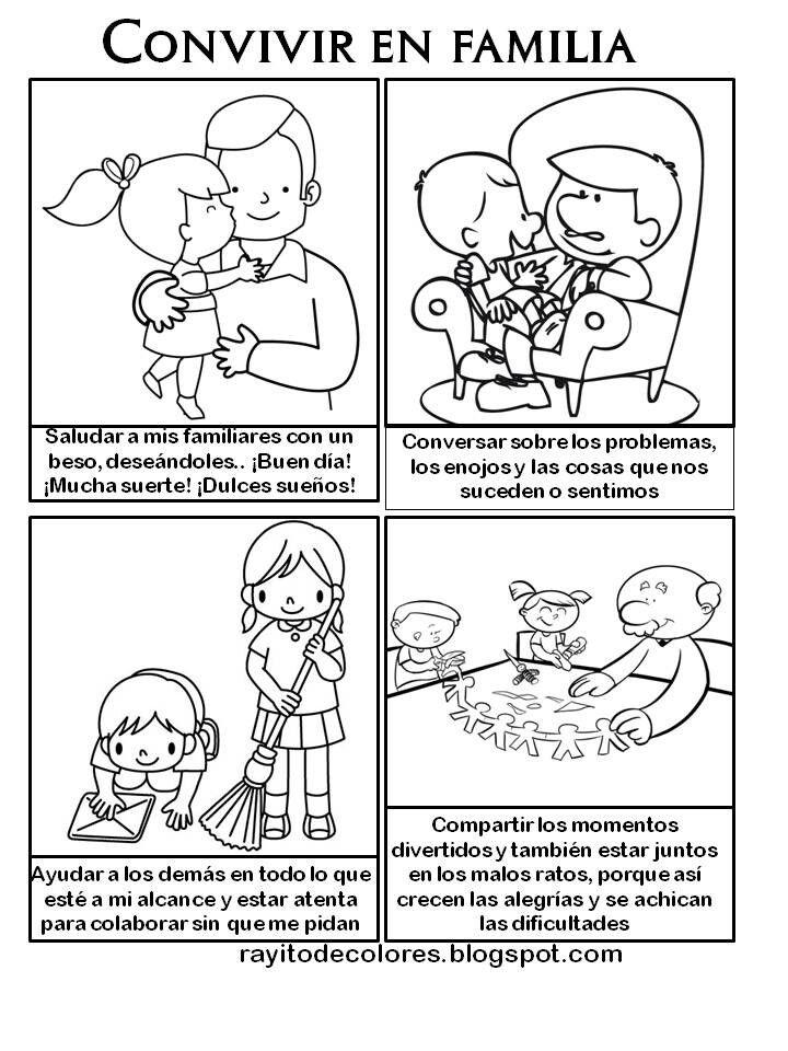 Convivencia Actividades De La Familia Imagenes De Familia
