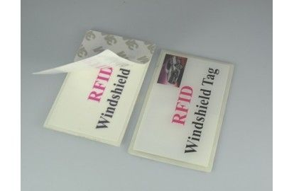 RFID UHF windshield tag