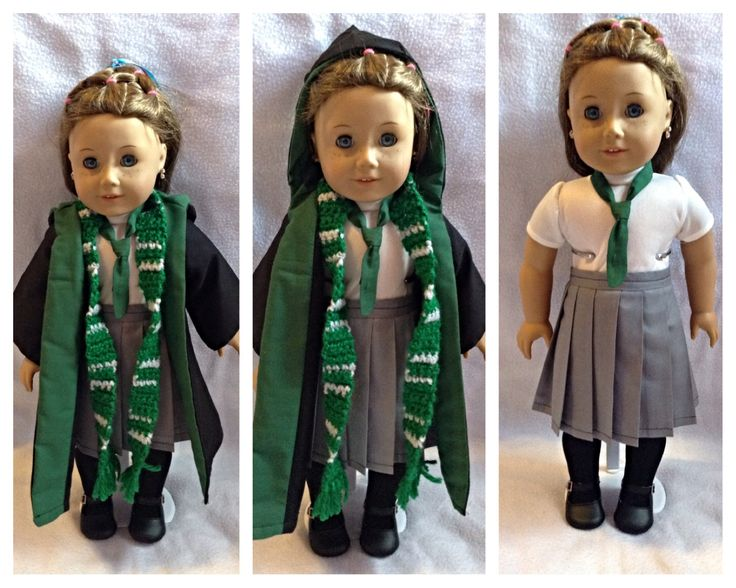 What do you guys think? #harry #potter #american #girl #doll #ag #robes #outfit…