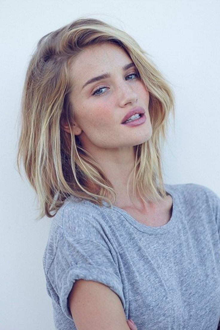Medium Blonde Hairstyles anastasia griffiths medium straight blonde chic hairstyle Bob Hairstyles Are One Of The Best Ways To Transform Your Look In An Instant