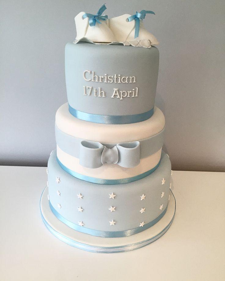 Christening Cakes Boy Ideas
