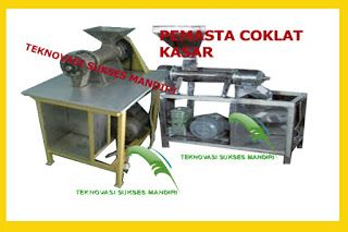 Alat Mesin Pertanian: Pemasta Kakao Kasar Kapasitas  20 Kg/Batch