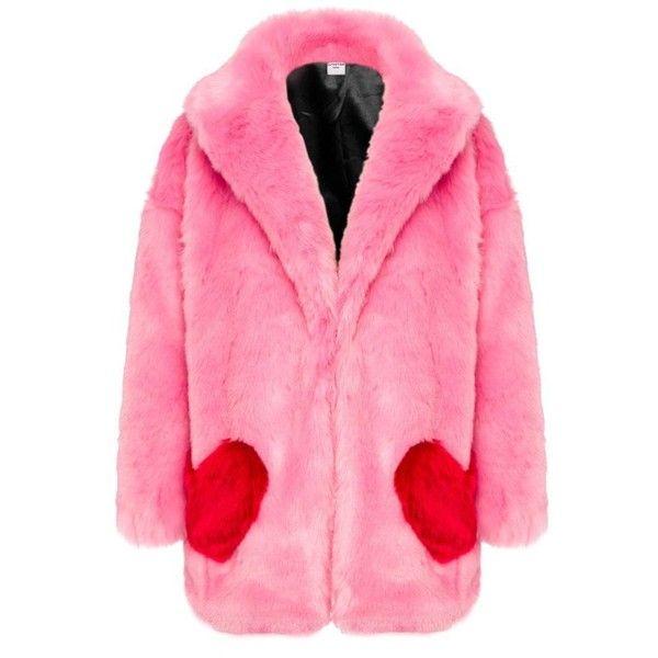 Fur Coat Pink Faux, Fake Fur Coats London