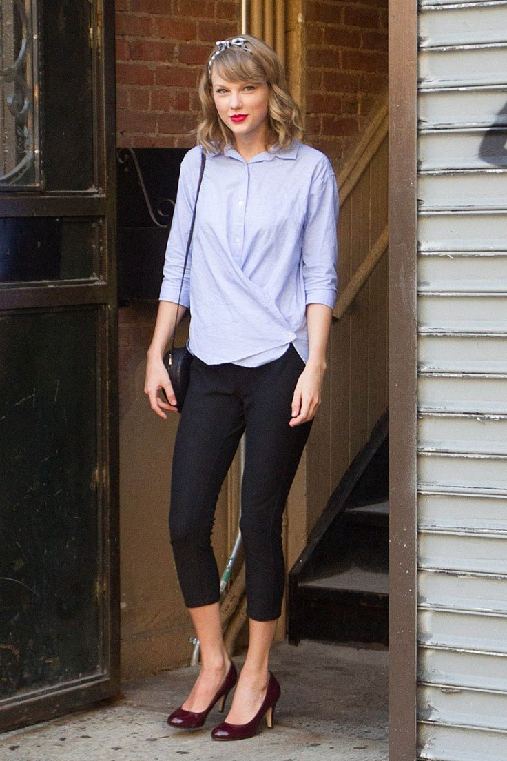 Taylor Swift Casual Style – Out in NYC – June 2014