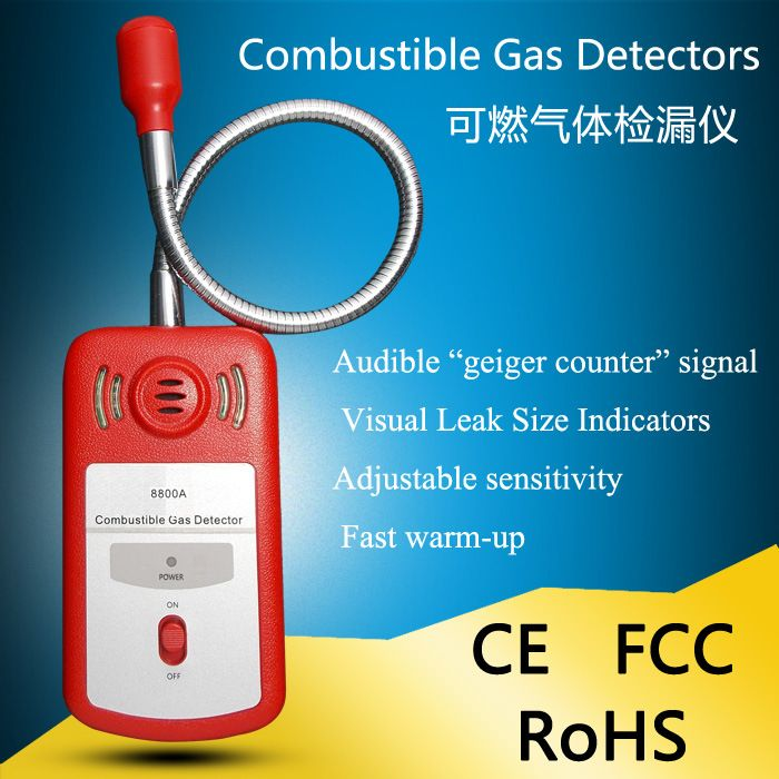 Handheld Flammable Gas Detector Leak Detector Natural Gas Methane Liquefied Gas Gas Biogas Tester
