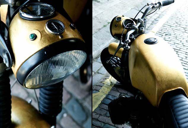Mewah & Klasik! Motor BMW R80/7 Berlapis Emas Murni | MEN'S JOURNEY