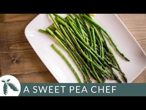 How To Cook Asparagus | A Sweet Pea Chef  Learn how to cook asparagus! I'll show you how to steam asparagus and how to sauté asparagus. Plus, I share tips on how to choose asparagus at the grocery …  http://LIFEWAYSVILLAGE.COM/cooking/how-to-cook-asparagus-a-sweet-pea-chef/