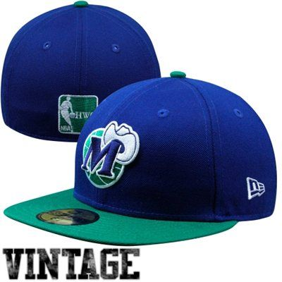 New Era Dallas Mavericks Two-Tone 59FIFTY Fitted Hat - Royal Blue/Green