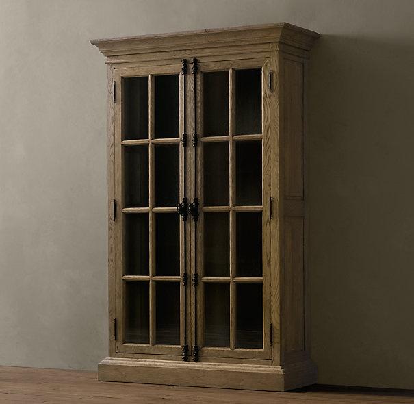 French casement cabinet from restoration hardware love lake house pinterest hardware - Restoration hardware cabinets ...