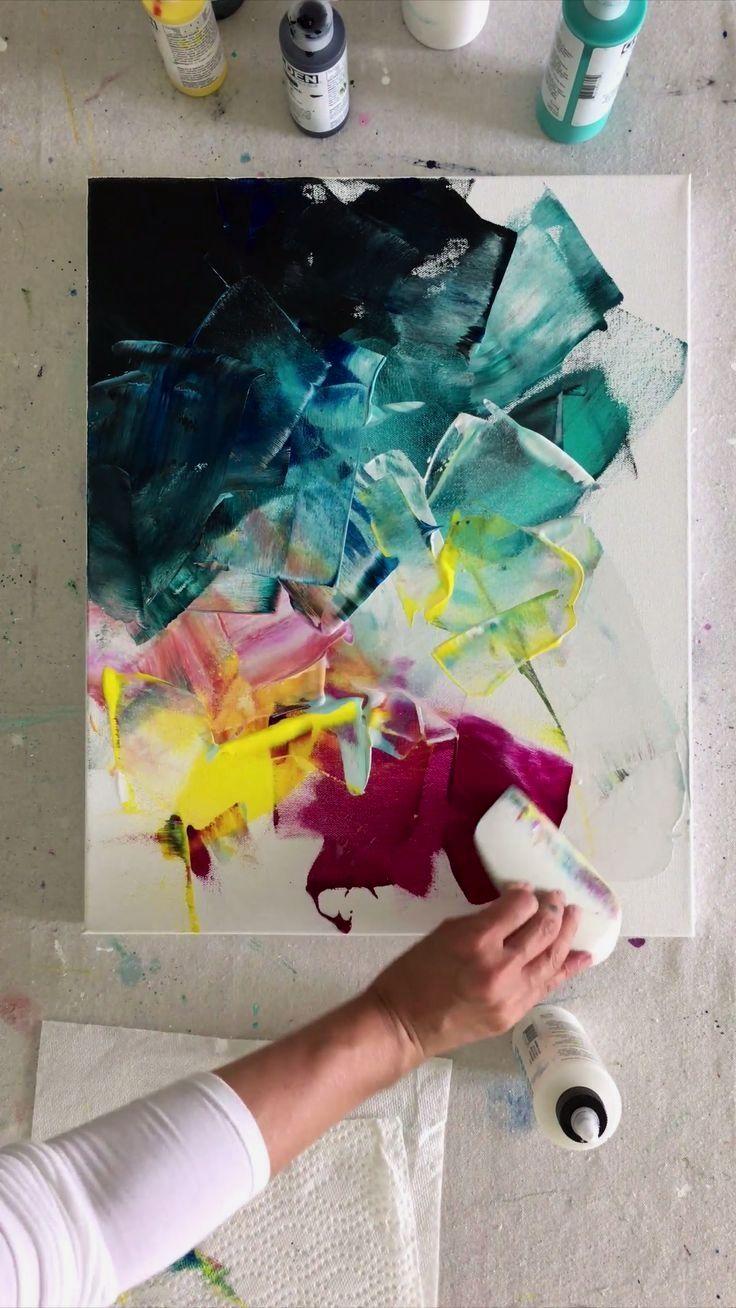 22 Creative Art Painting Boho Ideas Abstract Art Painting Diy Canvas Art Art Painting Acrylic