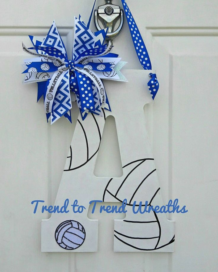 Wooden Volleyball Letter Volleyball Volleyball Decor