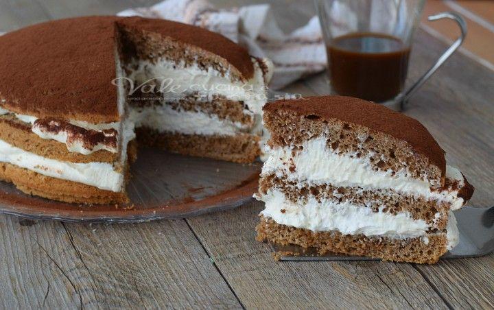 Torta morbida al tiramisù ricetta dolce
