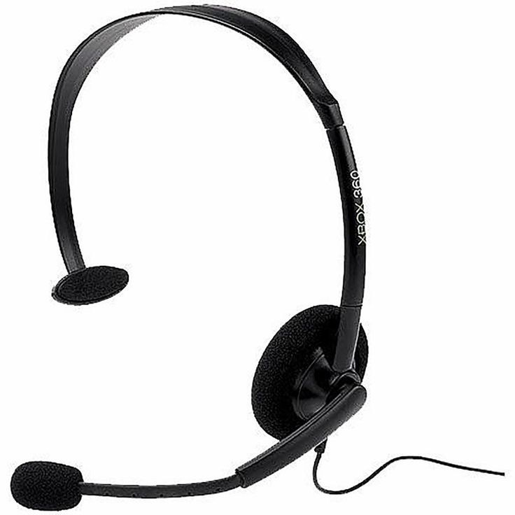 Black Wired Headset for Xbox 360 (Microsoft)  https://www.retrogamingstores.com/gaming-accessories/xbox-360-headset-wired-black-bulk-microsoft  Strategize, trash-talks or just chat while playing your favorite games.