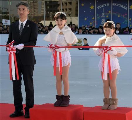 本田望結&紗来、「東京スカイツリータウンアイススケート」で初滑り(5)