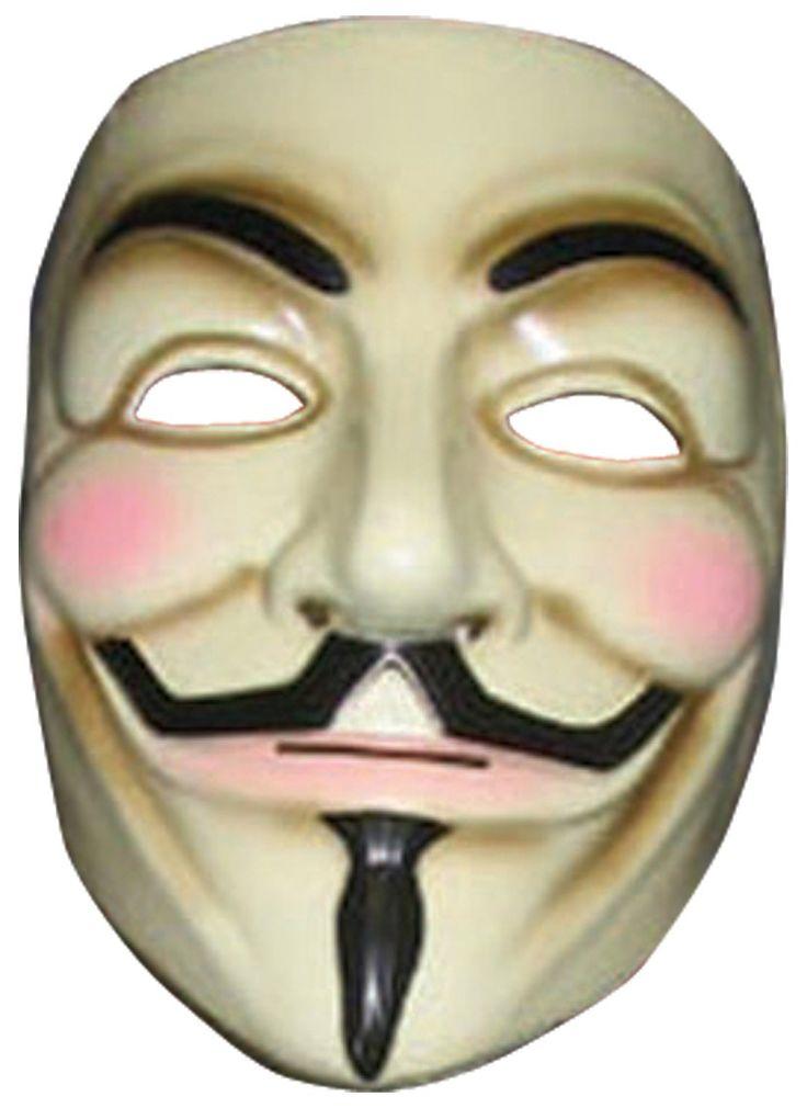 ¡Ya la tenemos de vuelta! La máscara de V de Vendetta™ . Disponible en www.vegaoo.es