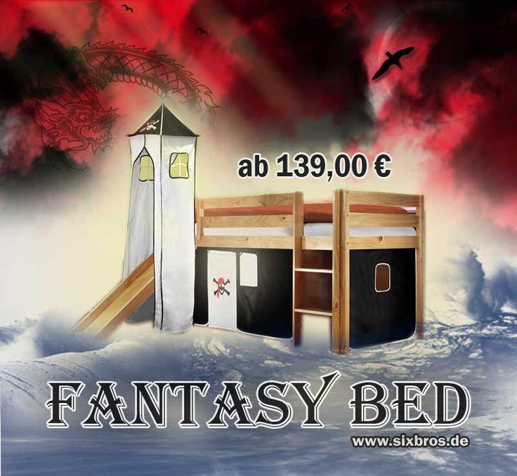 Fantasy Bed für Ihr(e) Kind(er) überraschen Sie Ihre Liebsten :) JETZT BEI SIXBROS https://www.sixbros.de/Article?s=kinderbett
