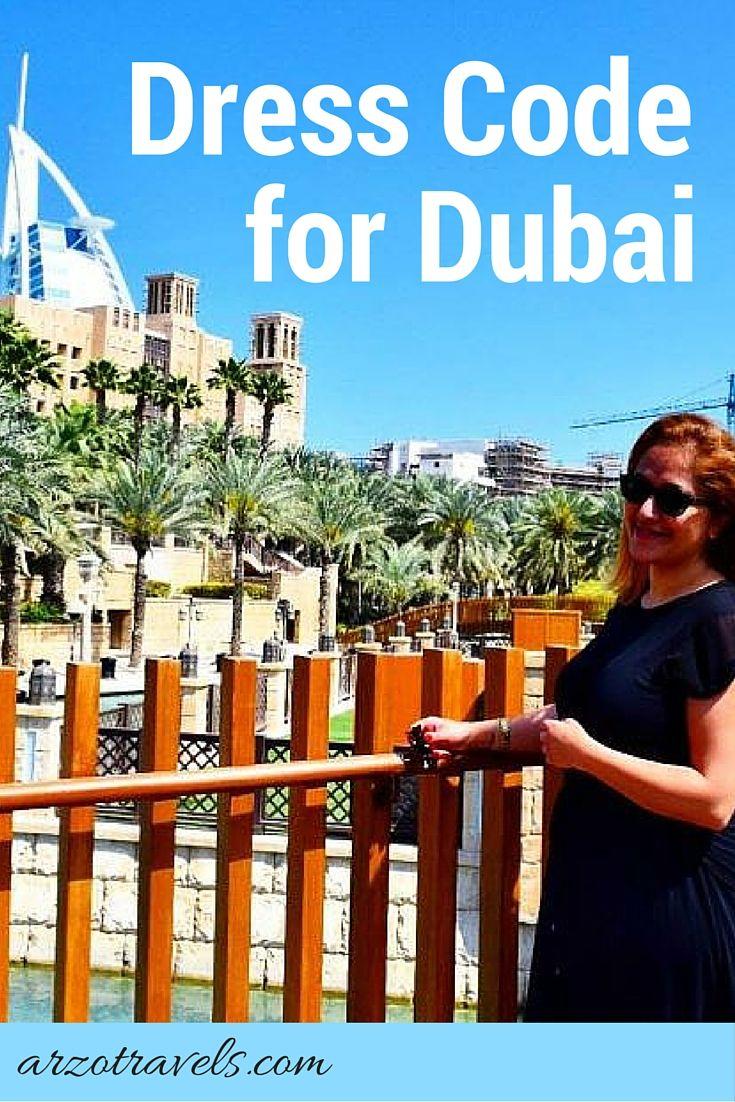 Know what to wear in Dubai. Get their dress code. #travel #dubai #whattowear…