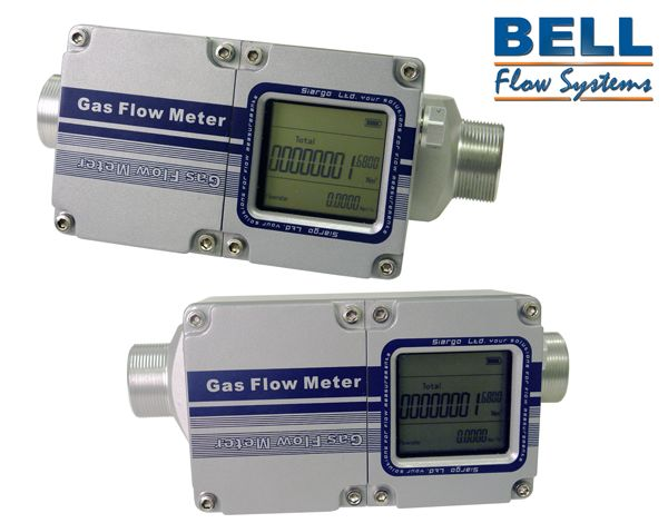 Battery powered MFGD thermal mass flow meters utilise MEMS technology for accurate light industrial gas flow measurement applications.