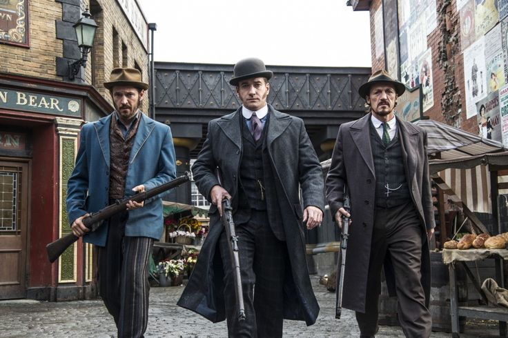 Matthew Macfadyen, Jerome Flynn and Adam Rothenberg