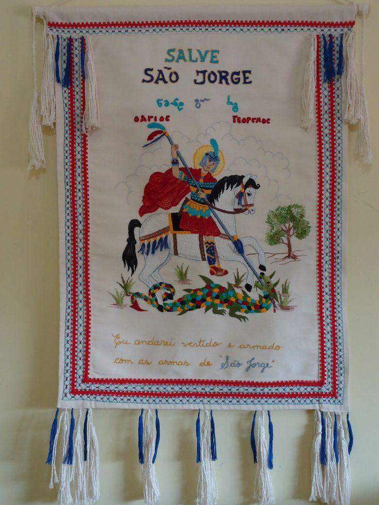 Bandeira de São Jorge por Ruiy Moura