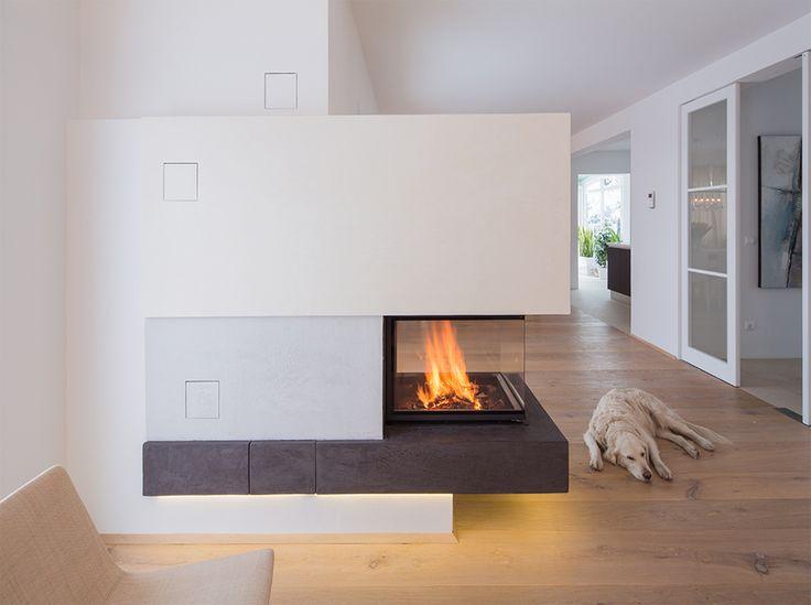 die besten 25 wandgestaltung um kaminofen ideen auf. Black Bedroom Furniture Sets. Home Design Ideas