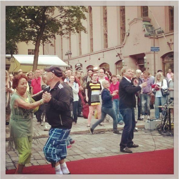 Riki Sorsa tanssittaa Rööperifest 2015