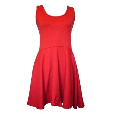 Un vestido sencillo pero original