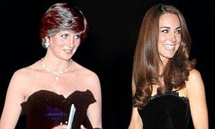 Kate Middleton and Diana share the same style, says designer Elizabeth Emanuel, but the two young royals are very contrasting women | Daily Mail Online