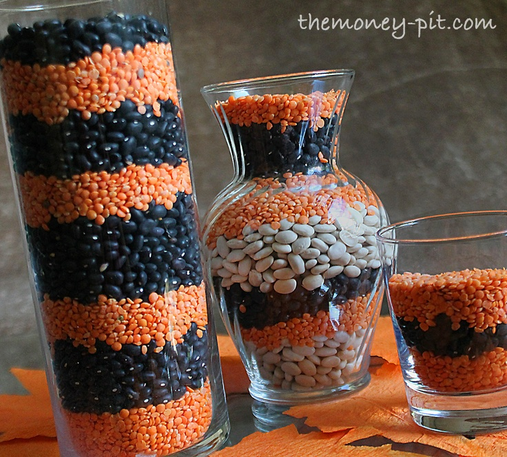 25 Best Images About Halloween Vases Glass On Pinterest Pumpkins Candy Corn And Gourmet Candy