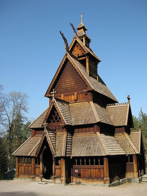 Stave Church - Oslo, Norway                                                                                                                                                                                 More