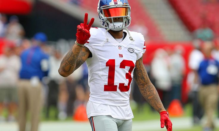 Odell Beckham Jr. is still the straw that stirs the Giants' drink = Odell Beckham Jr. claims that he no longer enjoys playing football. He is getting into fights with kicking nets on the sidelines and acting up on the field. In Minnesota on Monday Night, he was held to a career low 23 receiving.....
