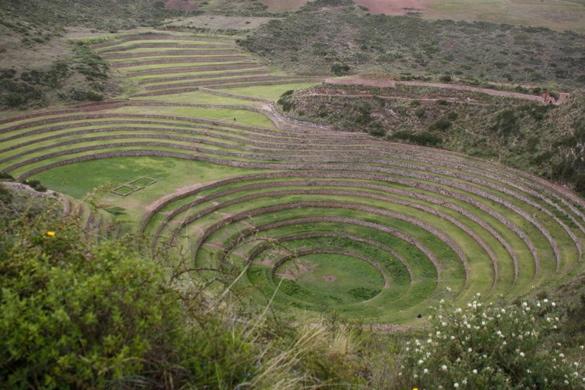 Bancales de Moray, Valle Sagrado. Perú
