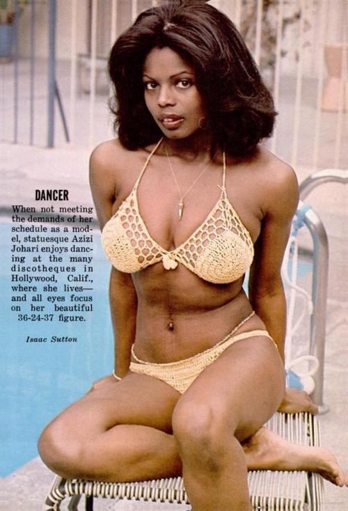 Jet Beauty Of The Week Late 70s Her Hair Almost Makes