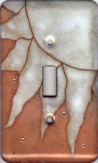 enamel copper light switch cover/sun single by jstoneenamels