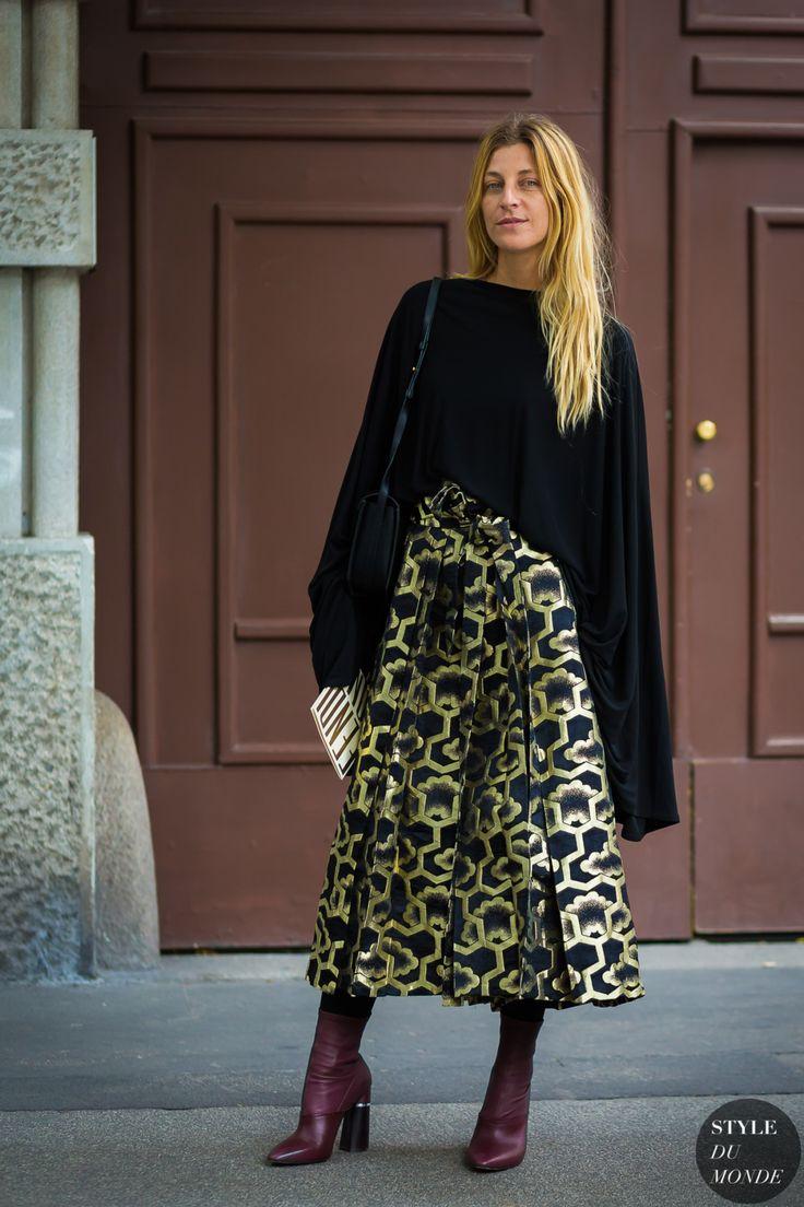 Milan SS 2017 Street Style: Ada Kokosar