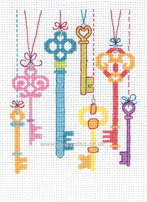 Cute and colourful. This would be lovely in a frame above the key hooks in the hallway.