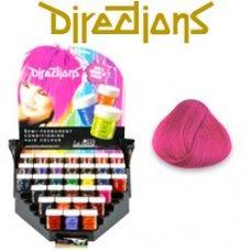 Carnation Pink Directions Hair Dye