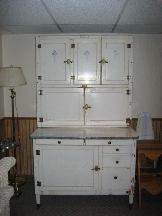 Antique Hoosier Flour Cabinet