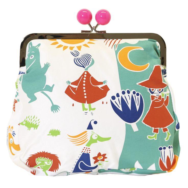 Large Moomin clutch bag by Ivana Helsinki